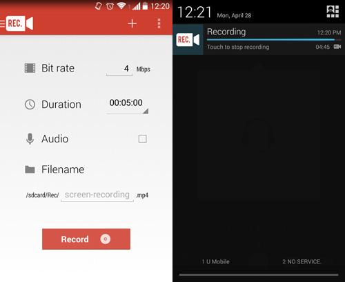скачать программу для снимания видео с экрана для андроид