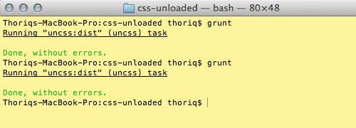 Grunt: Исключаем лишний CSS-код