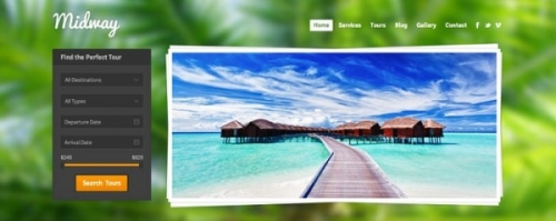 21 привлекательный Wordpress-шаблон для сайтов о путешествиях (преимущественно платное)