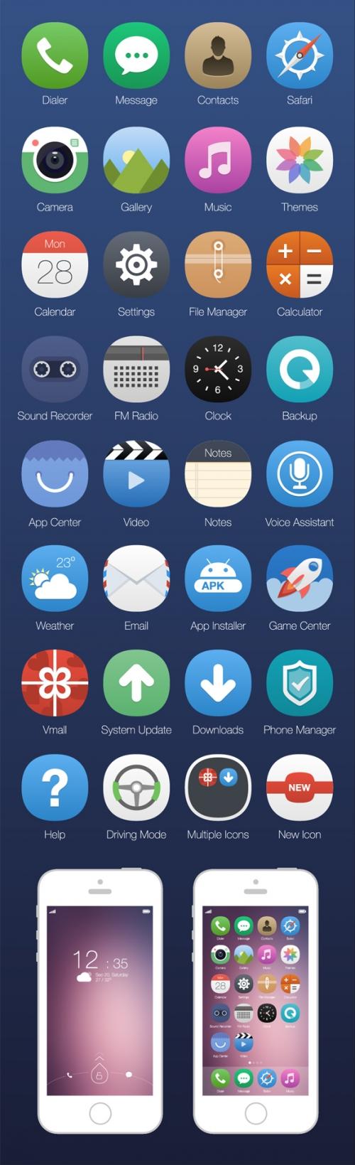 15 броских проект-концепций iOS 8, на которые стоит взглянуть