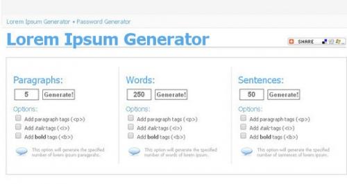 11 лучших и наиболее применимых генераторов Lorem Ipsum-текстов