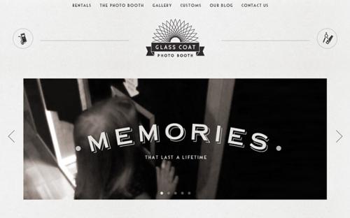 20 современных образцов дизайна ретро-сайтов 16