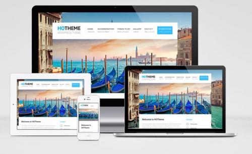Hotheme: Бесплатный адаптивный WordPress-шаблон для сайтов гостиниц