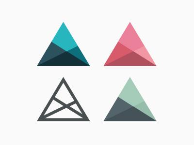 25 креативных дизайнов логотипа в плоском стиле
