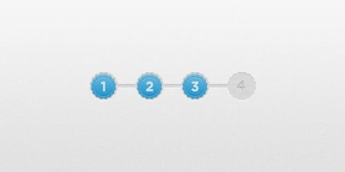 Красивые и удобные строки прогресса в PSD-формате