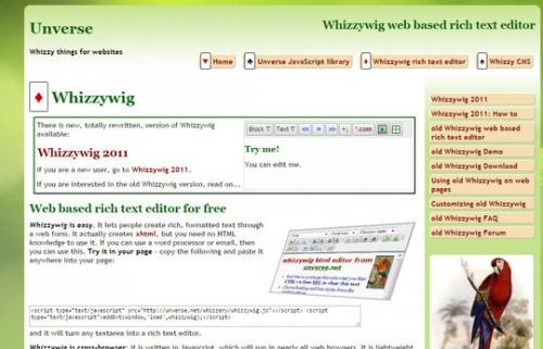 10 отличных бесплатных Rich-Text редакторов текста
